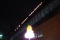 仙台駅の夜・近景