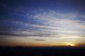 [夕景][富士山]日没後