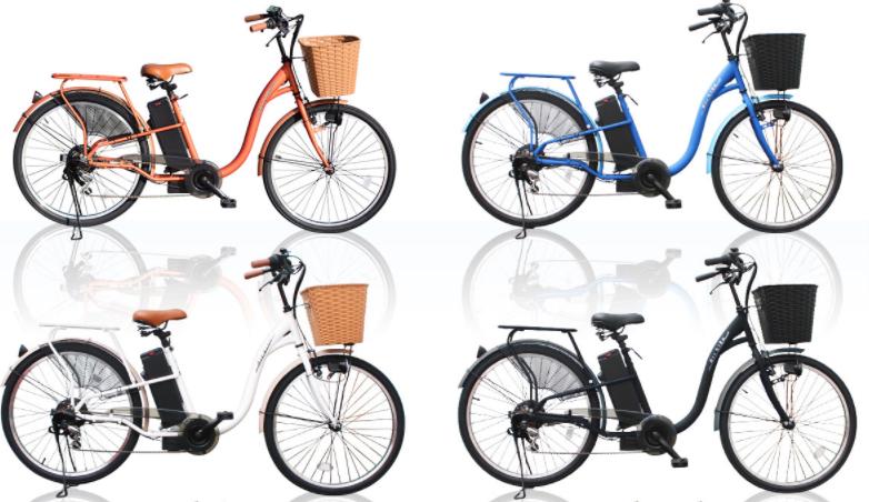 おしゃれで、かわいいのに高機能でおすすめの電動自転車