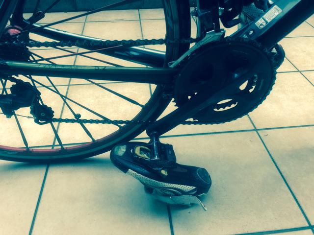 トライアスロンのバイクシューズのセッティング方法