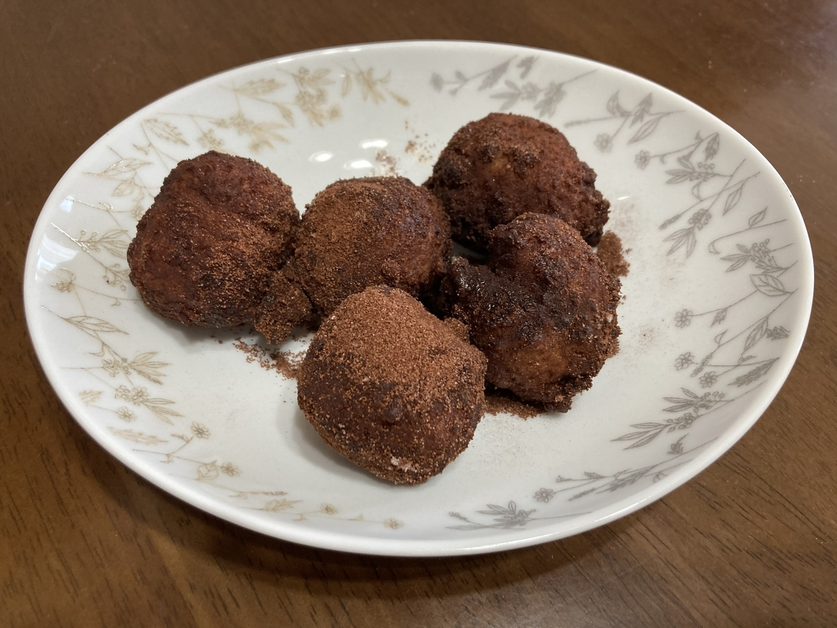 丸亀製麺のドーナツ(ココア)