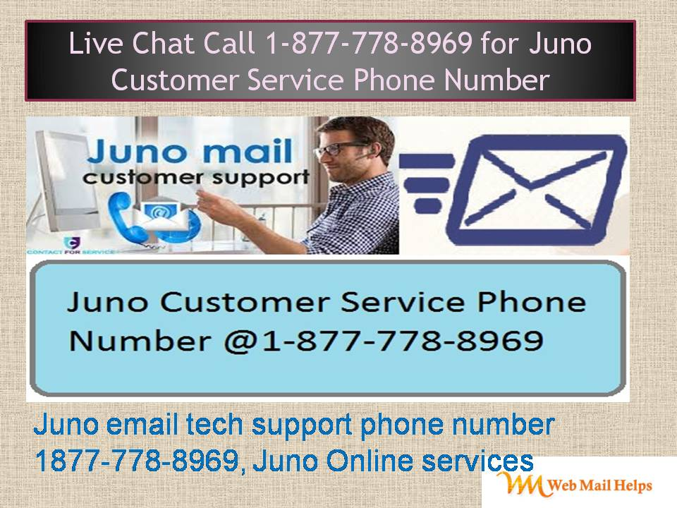 Need Attention At 18777788969 About Your Juno Online Services