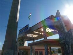イラク側国境の入り口「ようこそクルディスタンへ」