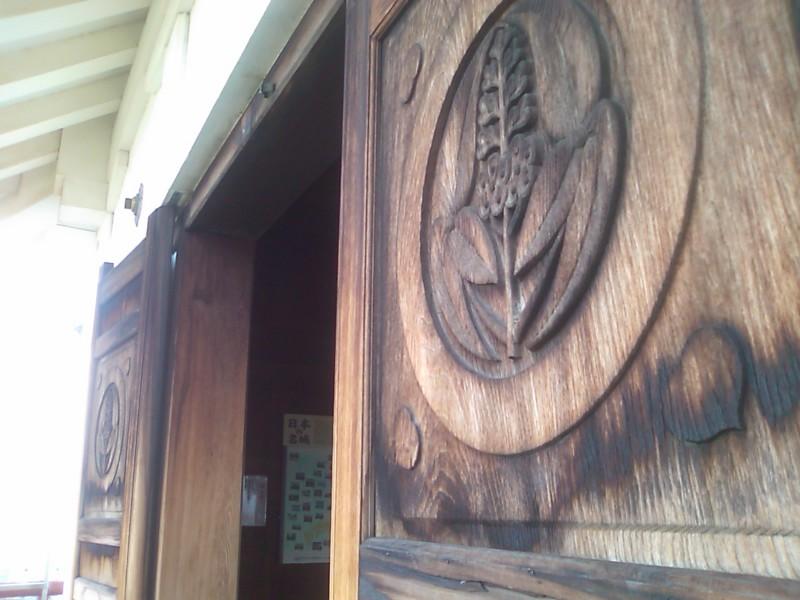 展望台の扉