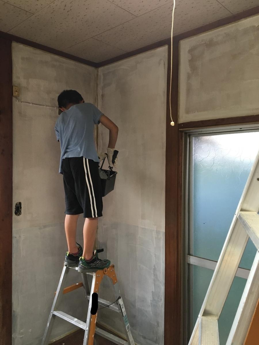 築古戸建 家族でDIY再生 塗装