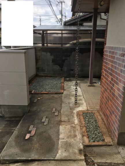 戸建投資 DIY 庭の整地