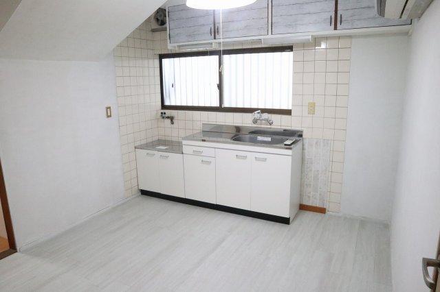 築古戸建 キッチン リフォーム後 DIY