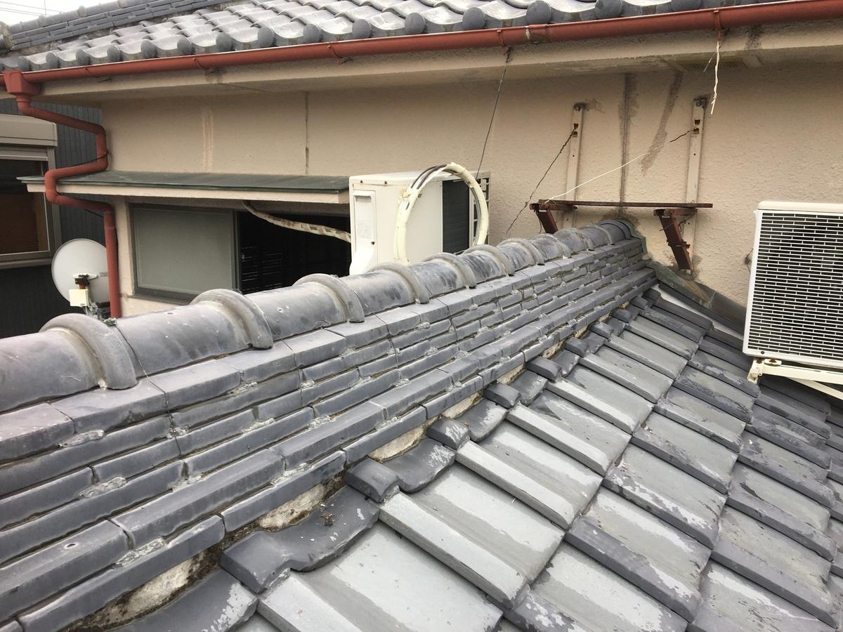 築古戸建 雨漏れ修理 屋根修理