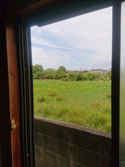 築古戸建 窓からの眺めだけは美しい