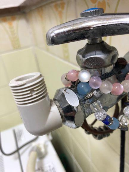 入居者からの写真 洗濯の水道栓