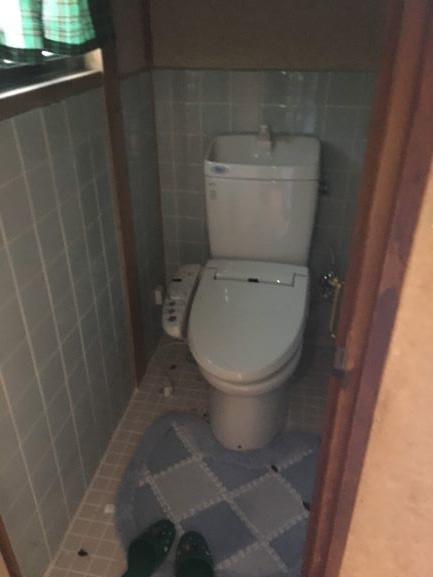 築古戸建 トイレ 汚い