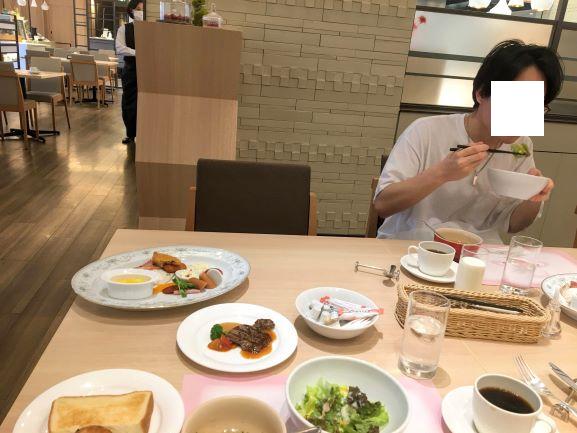 ホテル阪神大阪 朝食洋食メニュー