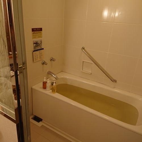 ホテル阪神大阪は部屋のバスに天然温泉
