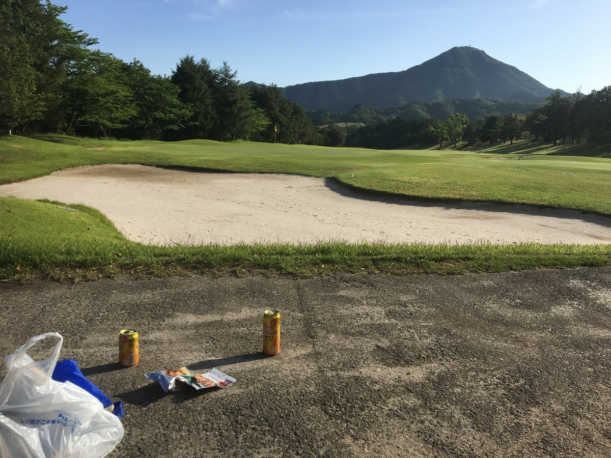 久しぶりのゴルフ場