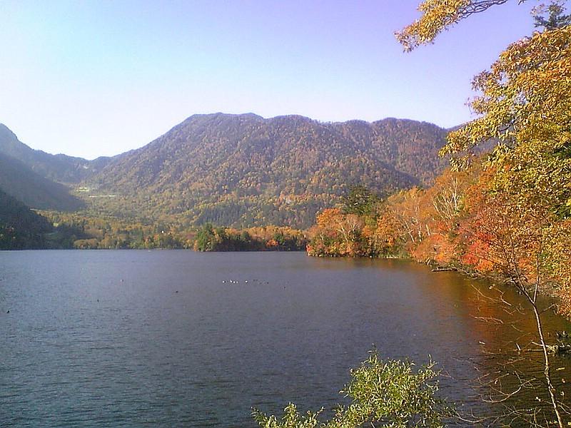 湯ノ湖。素晴らしかった。