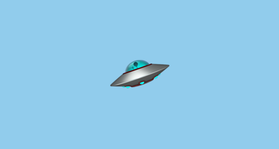 Flying Saucer | The spiritual emoji | ayanakahara