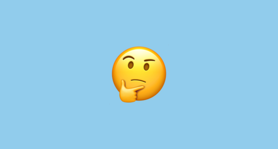 Thinking Face | The spiritual emoji | ayanakahara