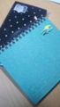 手帳とメモ帳新調した・▽・手帳は今年のと同じ