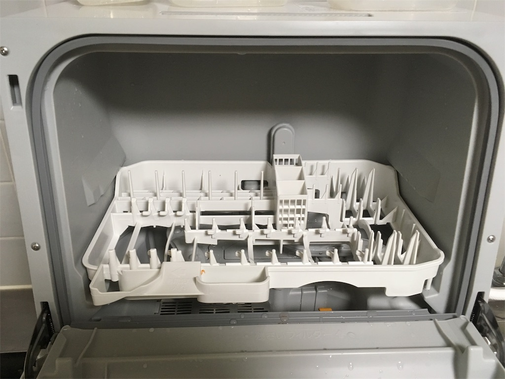 プチ食洗機-庫内
