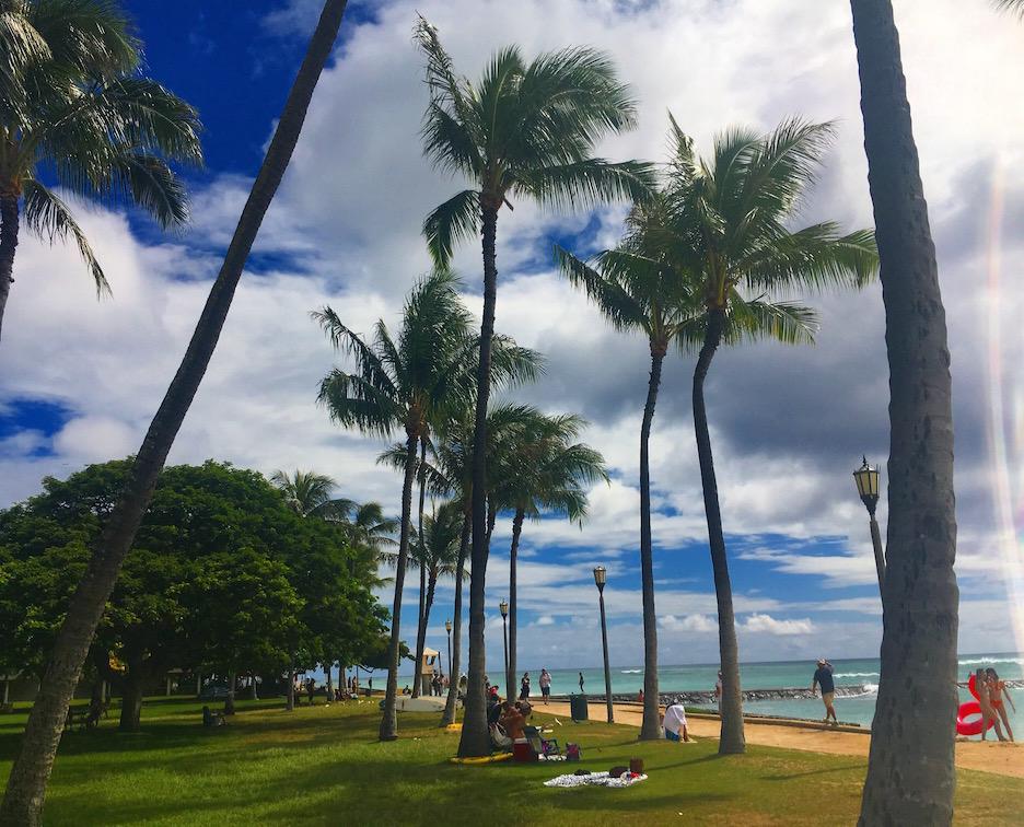 hawaii_ホノルルビーチ
