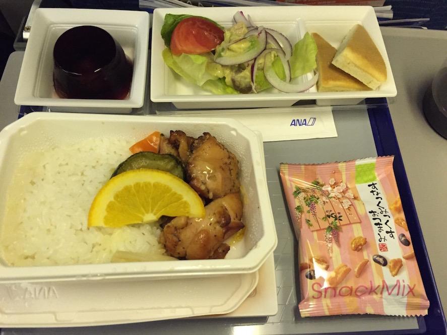 ANA_機内食_洋食
