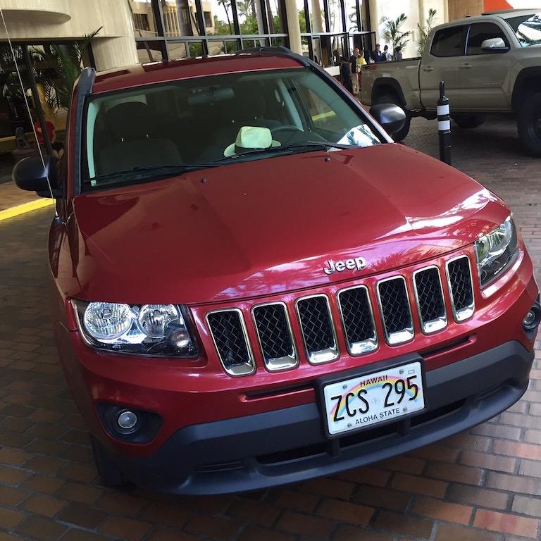 ハワイ_バジェット_jeep