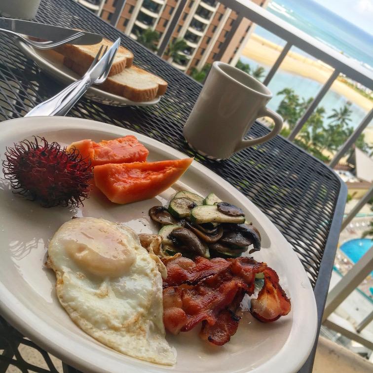 hawaii-朝食-5day