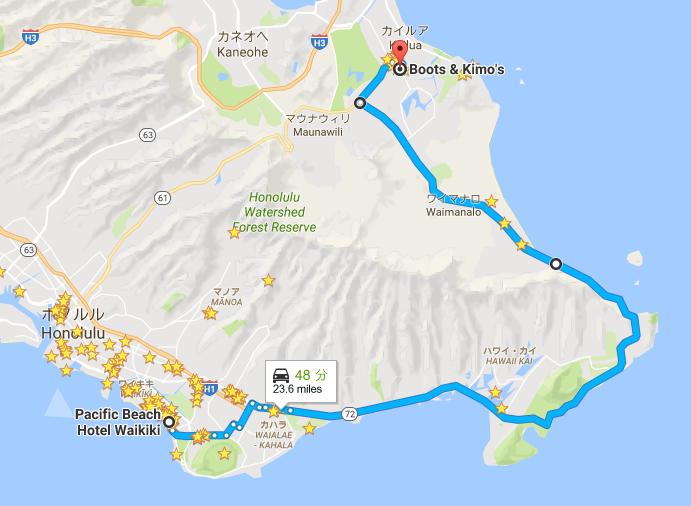 google-map-kailua