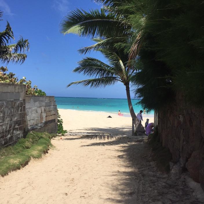 hawaii-オススメ-ビーチ-ラニカイ-カイルア