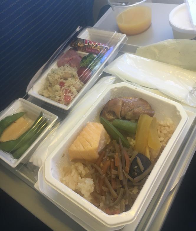 和食-honolulu-空港-機内食-ana