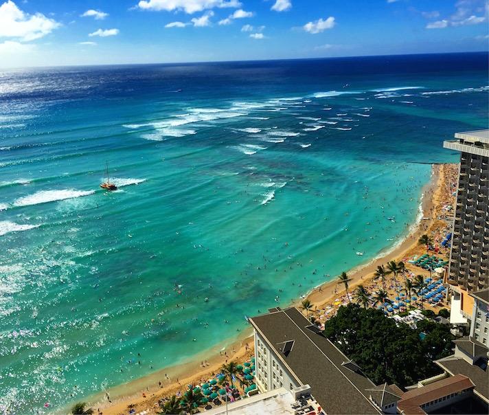 陸マイラー-ハワイ-ANA