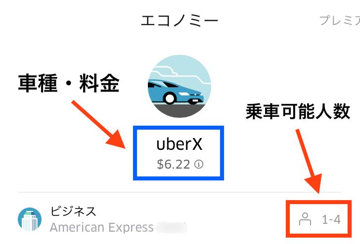 料金-UBER-ウーバー