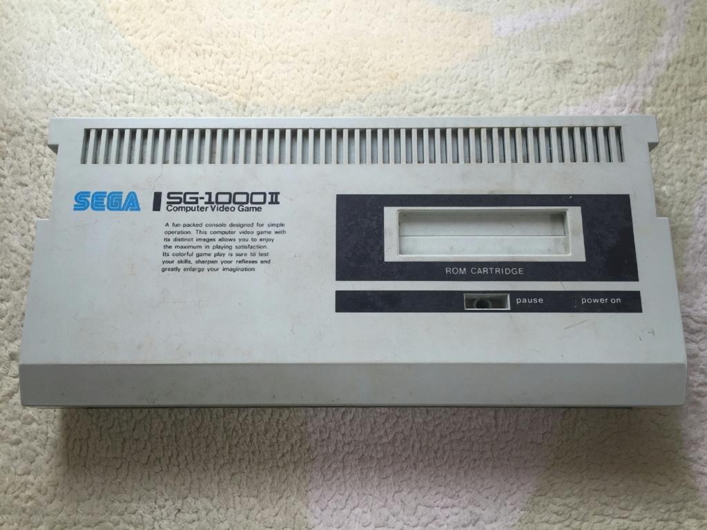初めて手にした家庭用ビデオゲーム機 SG-1000Ⅱ
