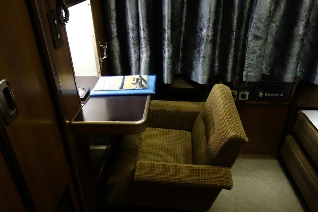 北斗星9号車A寝台個室ロイヤル室内