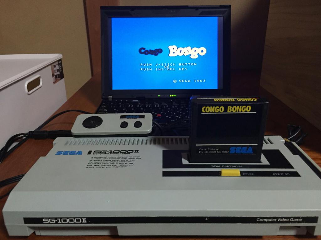 改造SG-1000ⅡとPC-SDVD/U2Gで映像を取り込む