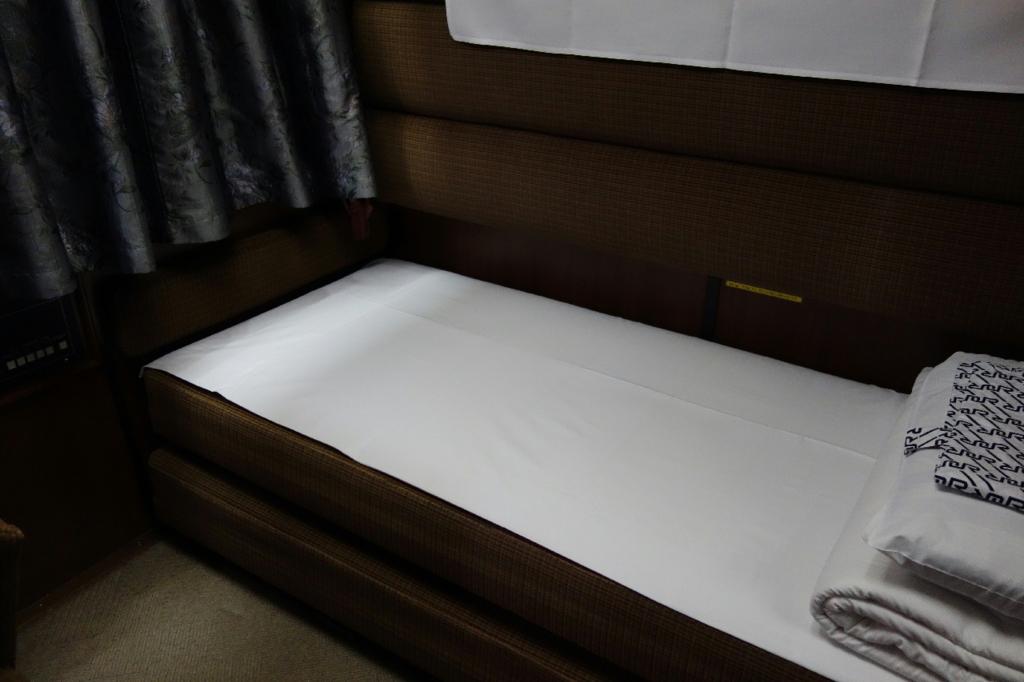 北斗星9号車A寝台個室ロイヤルの寝台