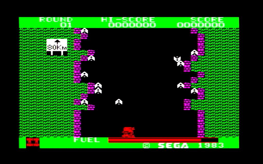 ボーダーラインのゲーム画面(第一戦区)