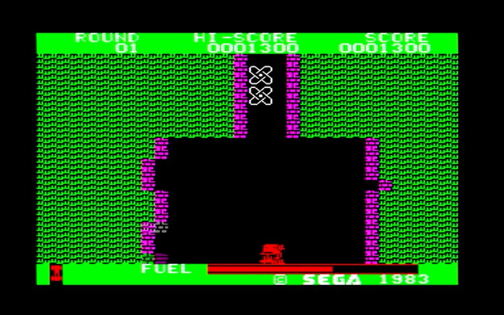 ボーダーラインのゲーム画面(第一戦区後半)