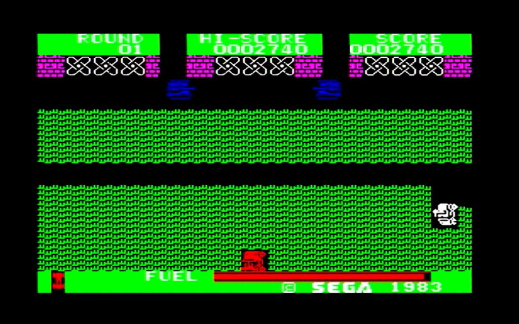 ボーダーラインのゲーム画面(第二戦区)