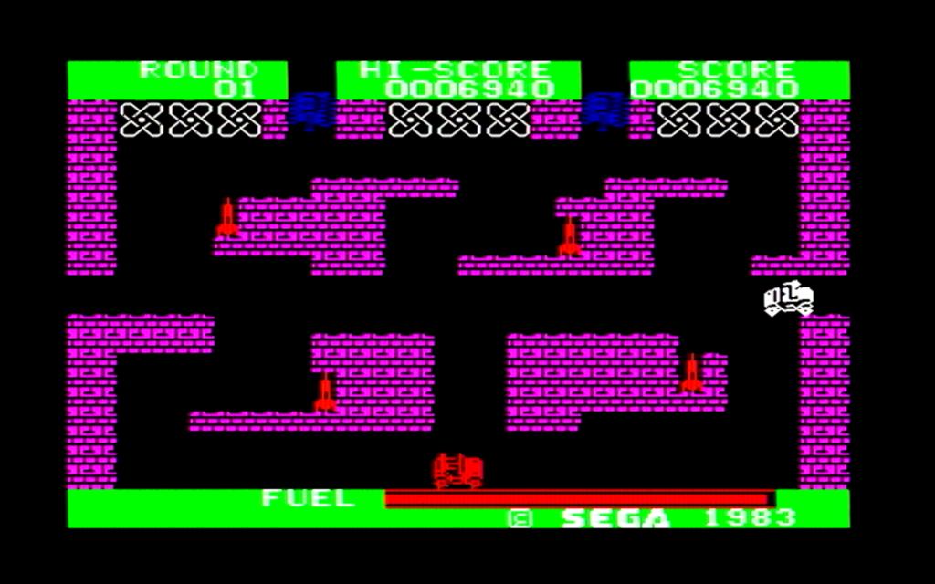 ボーダーラインのゲーム画面(第三戦区)