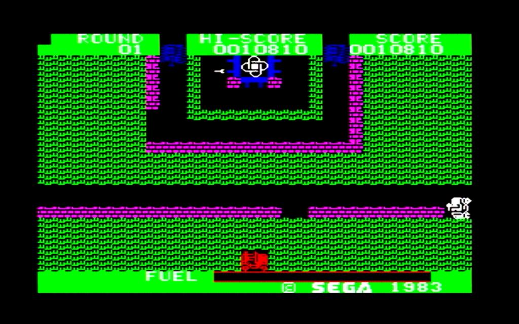 ボーダーラインのゲーム画面(第四戦区)