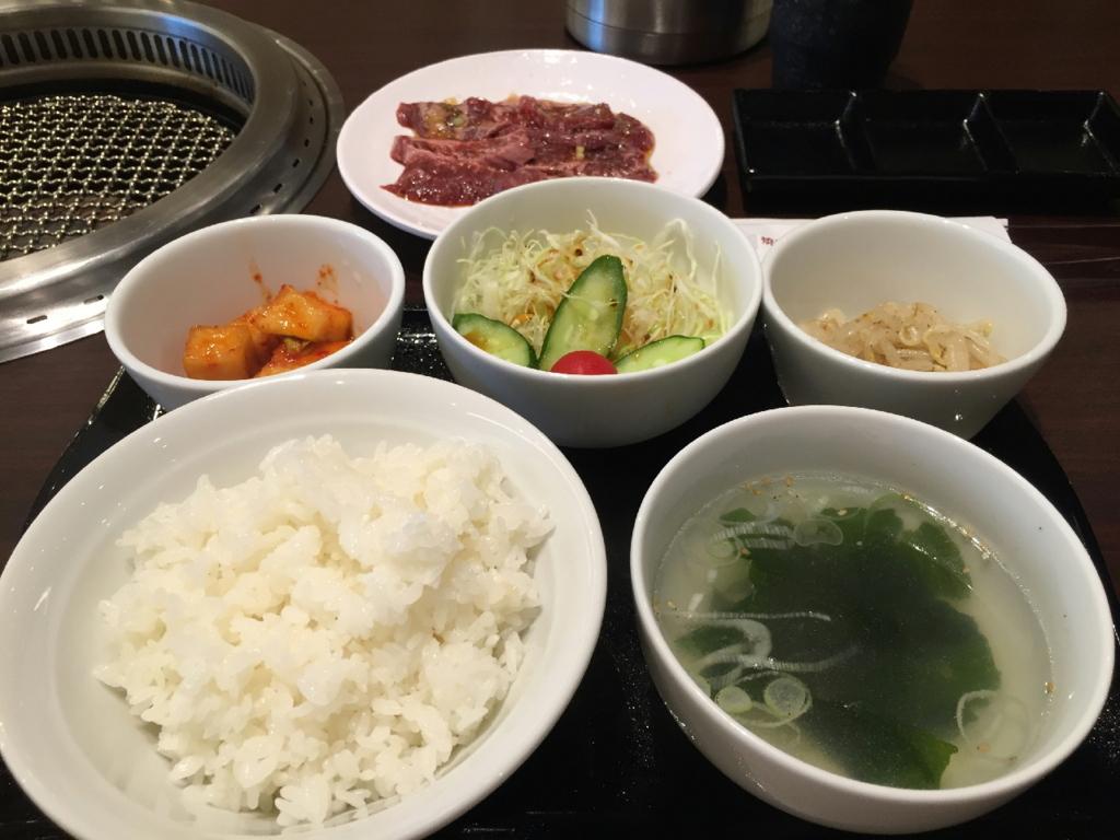 焼肉・冷麺ヤマトのうまいハラミ定食
