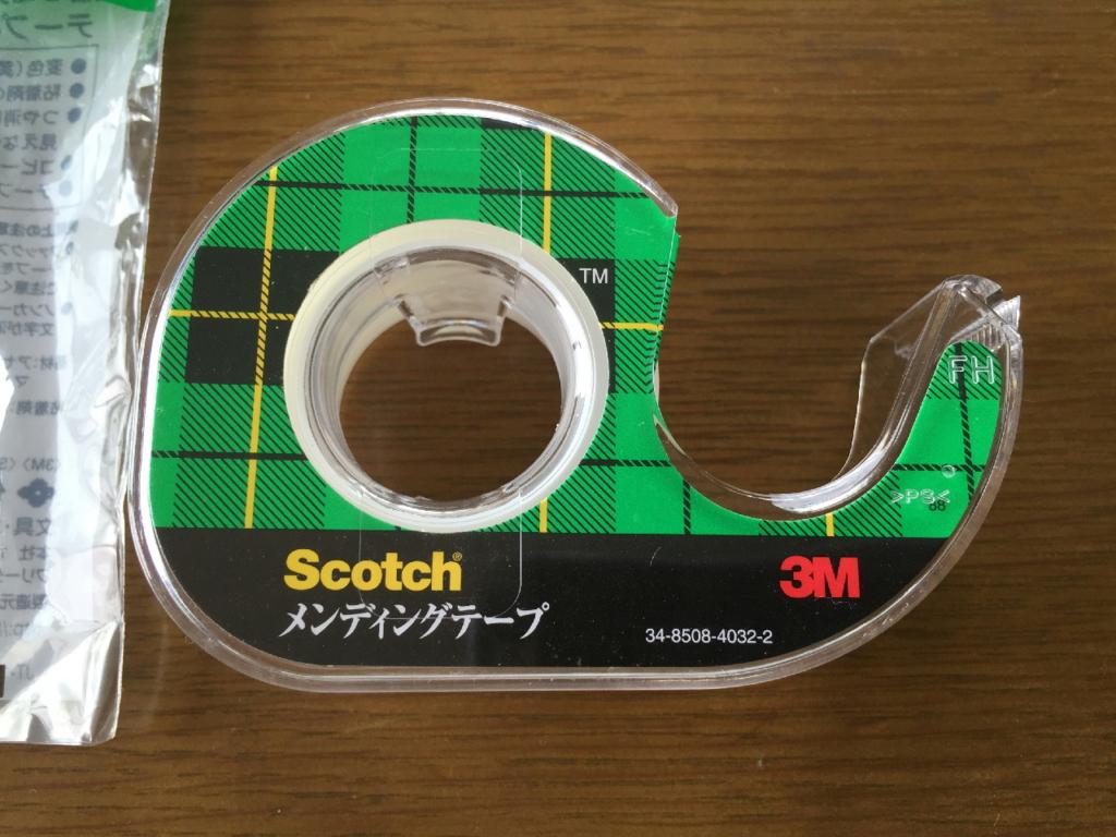3Mジャパングループが販売するScotchメンディングテープ(本体)