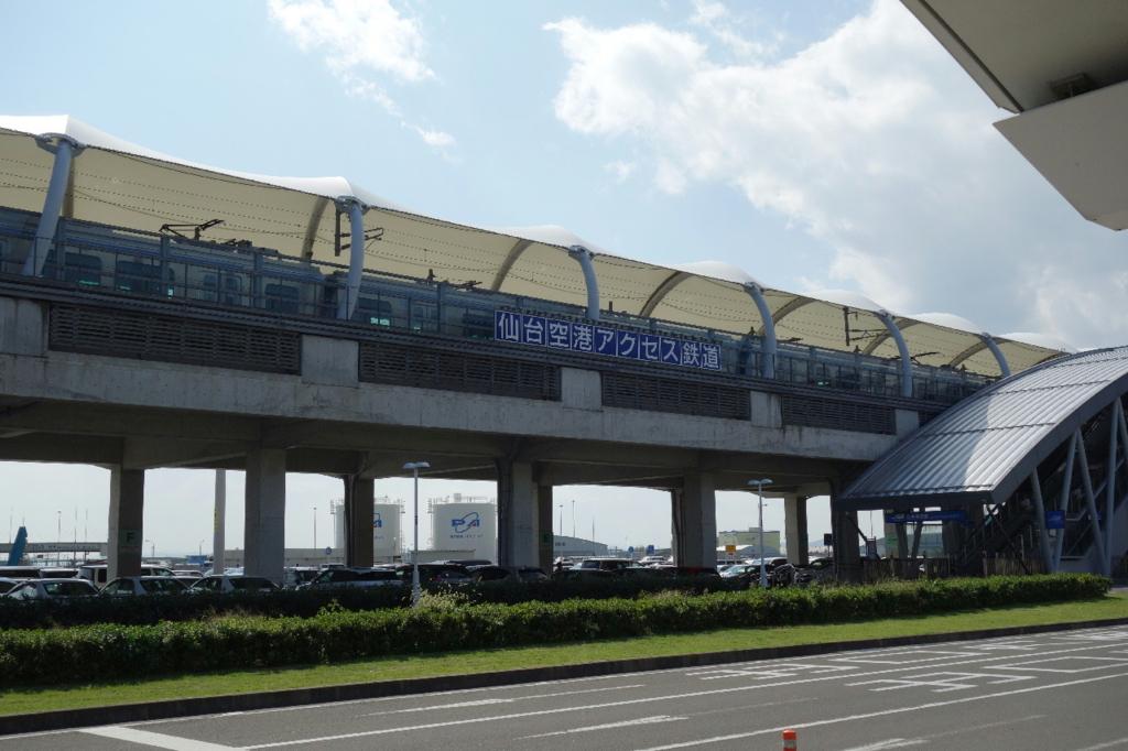 仙台空港アクセス鉄道の仙台空港駅
