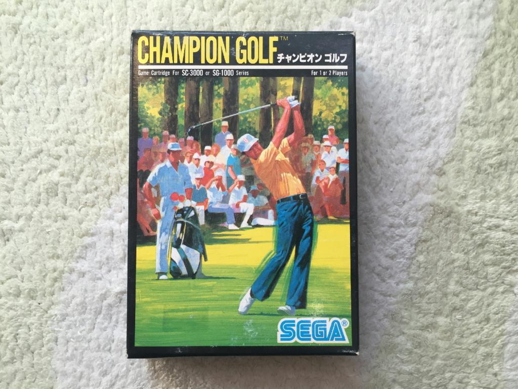 チャンピオンゴルフの外箱(表面)