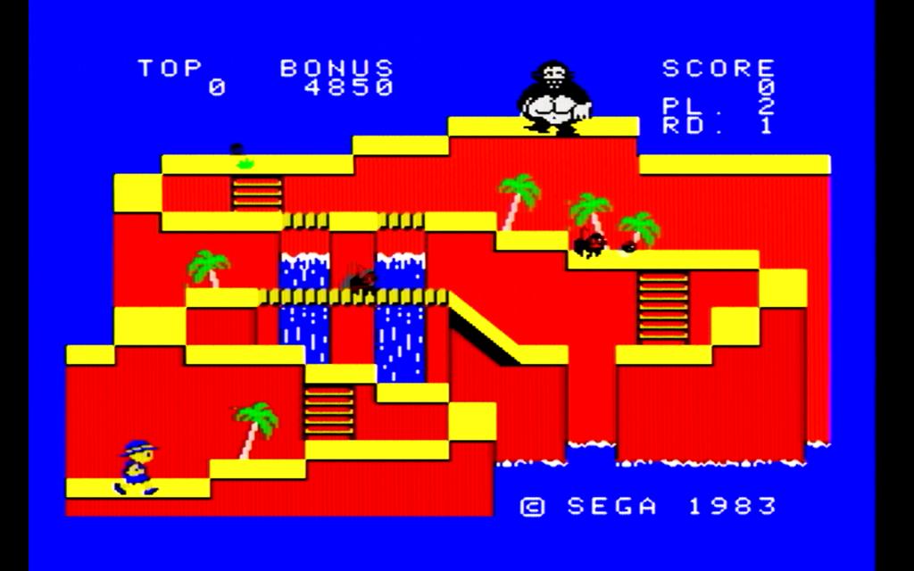 コンゴボンゴのゲーム画面(1面)
