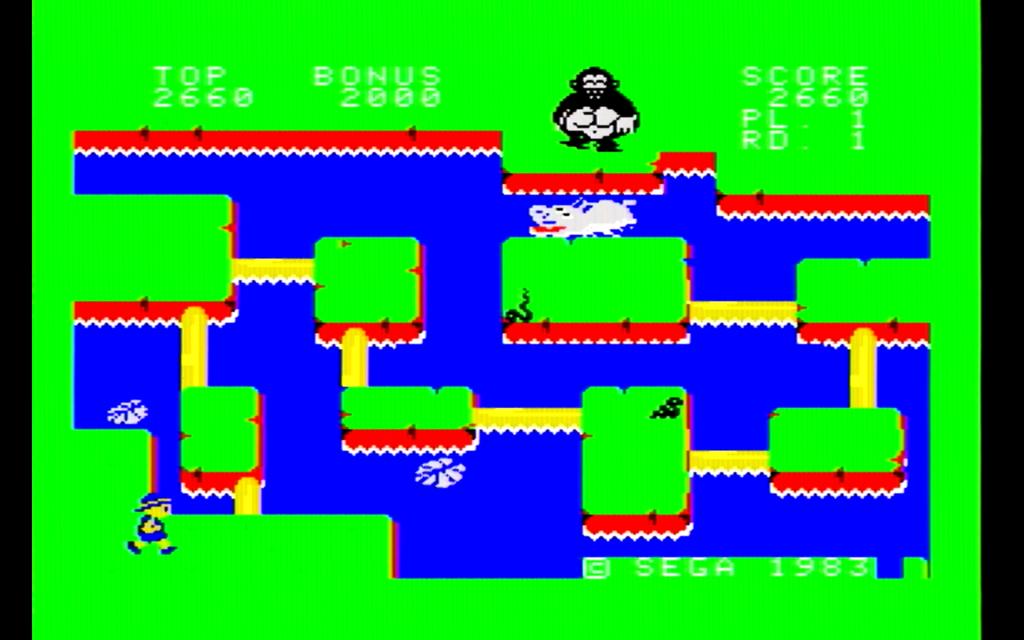 コンゴボンゴのゲーム画面(2面)