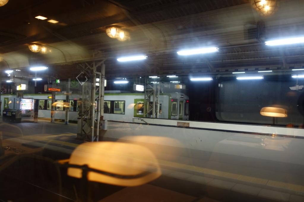 北斗星グランシャリオから見る郡山駅