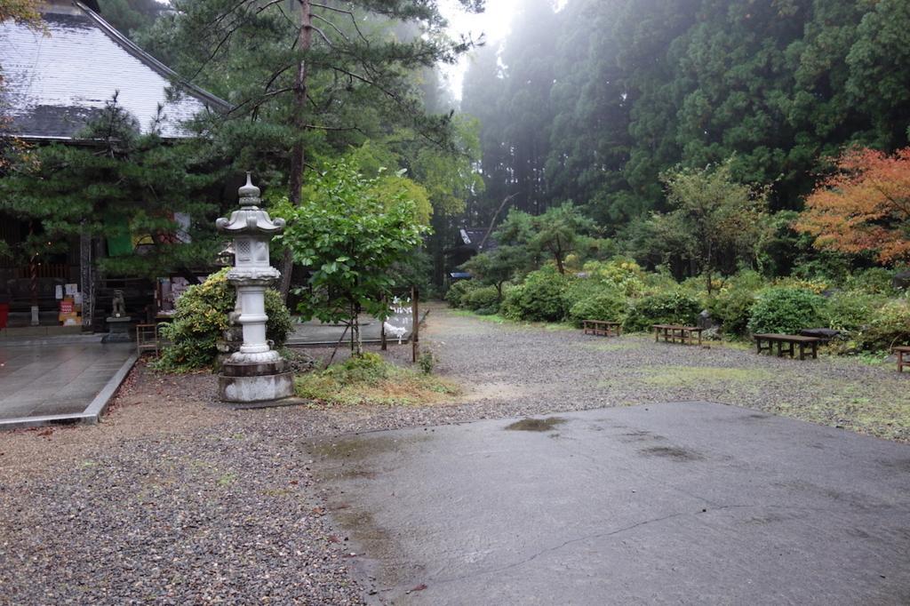 不動尊の脇道から秋保大滝へ向かう