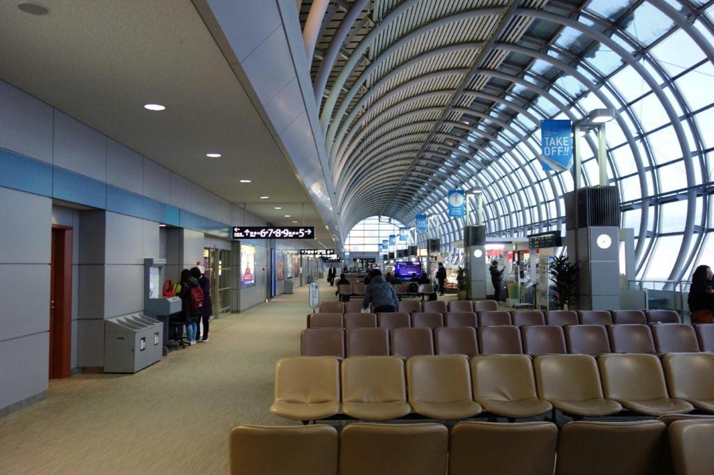 仙台国際空港での制限区域内の様子(平成30年1月23日)